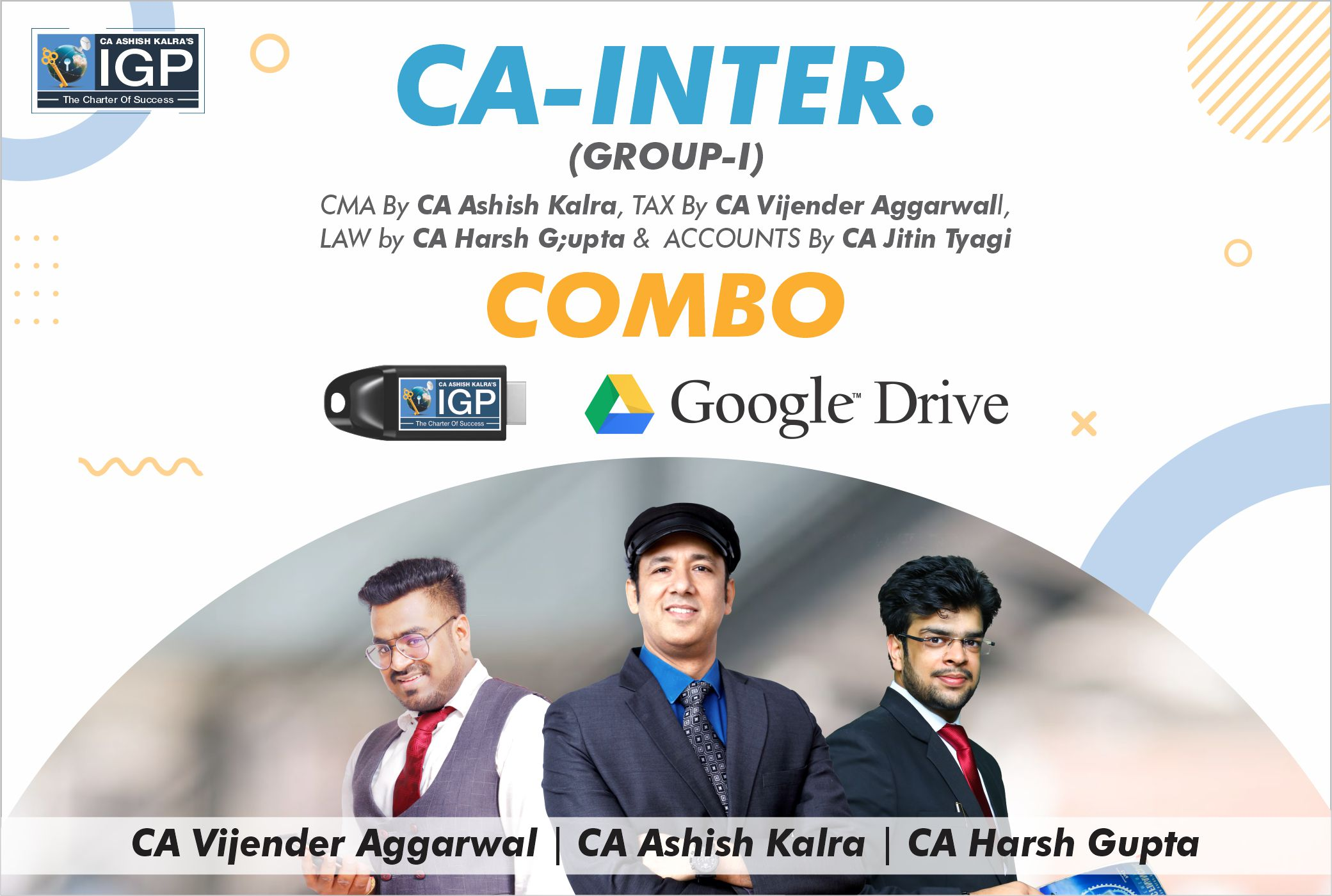CA Inter -  Group 1 Combo