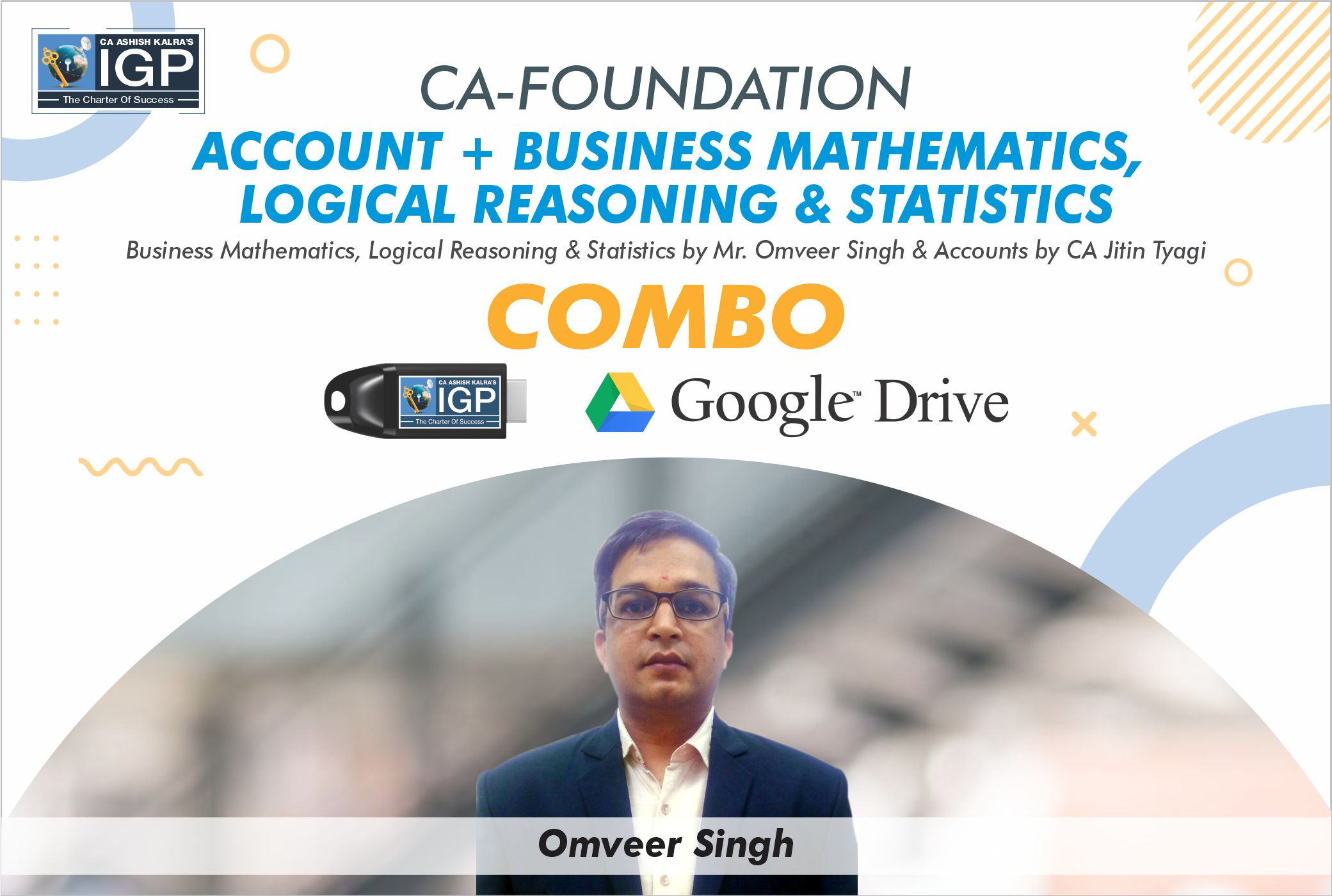 CA Foundation - Accounts & Maths Combo