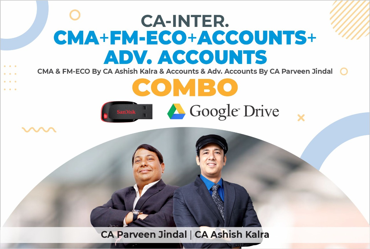 Combo (CMA+FMECO+ACCOUNTS+ADVANCE ACCOUNTS)