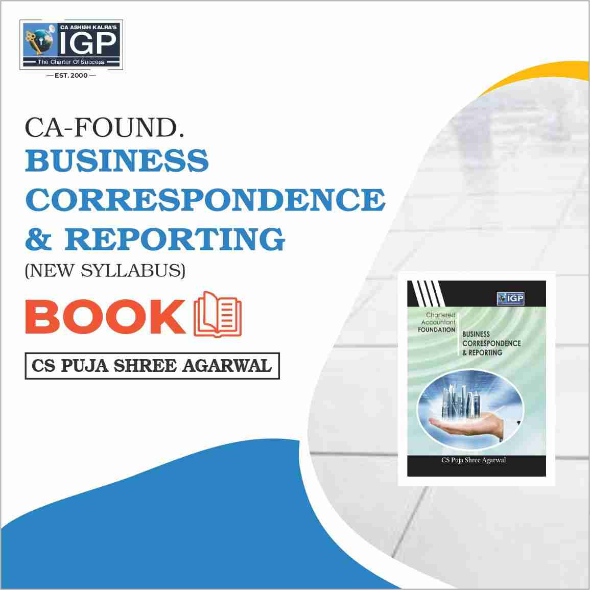 CA -Foundation- Business Correspondence & Reporting