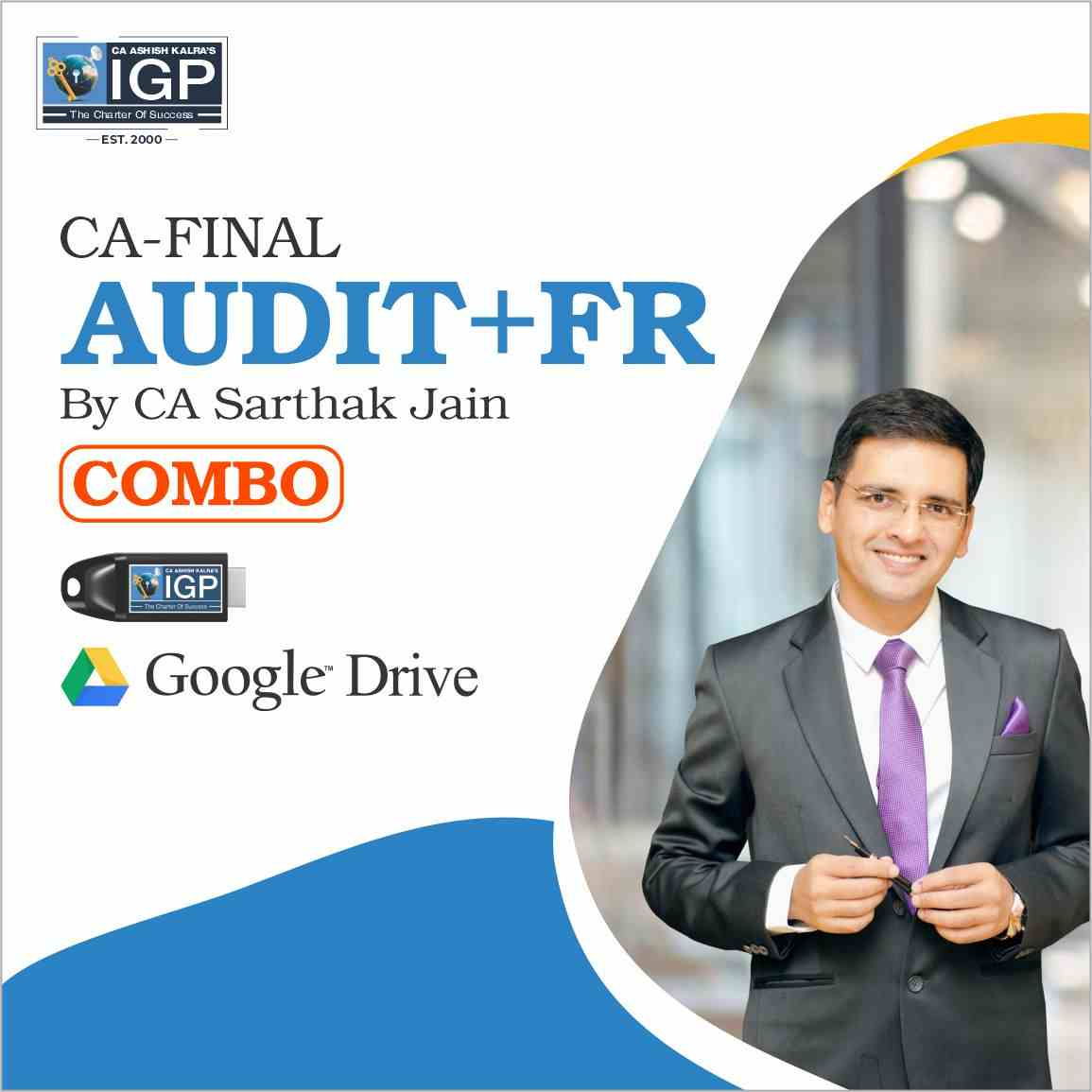 CA Final -  FR & Audit Combo Sarthak Jain