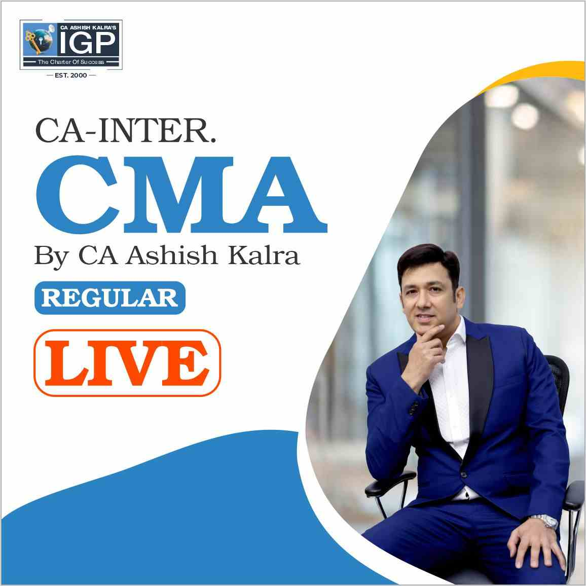 CA -INTER- Cost Management Accounting (CMA) LIVE