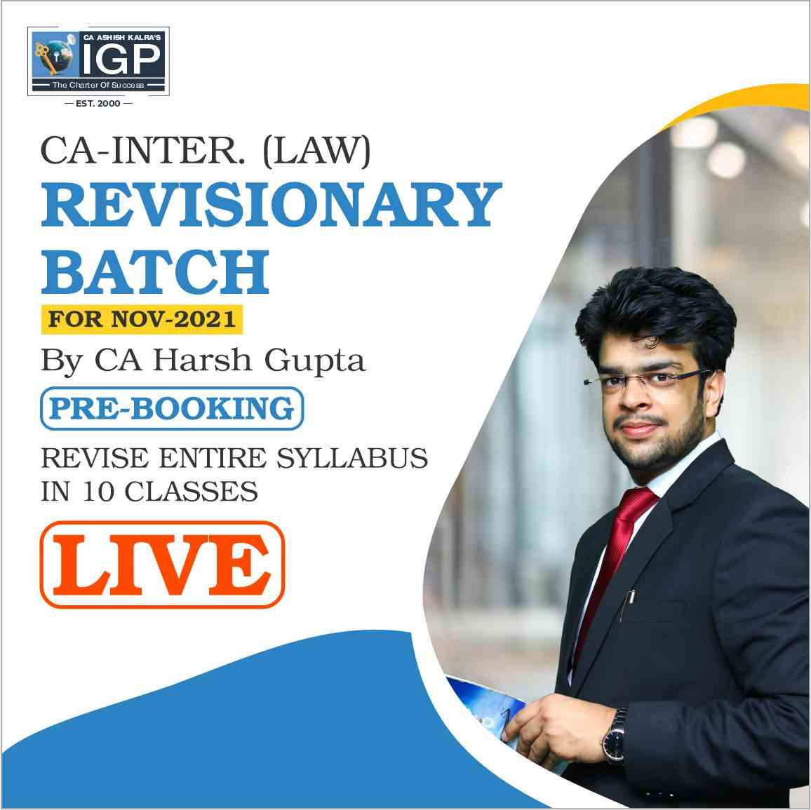 CA -INTER- Law Revisionary Batch for May 2021