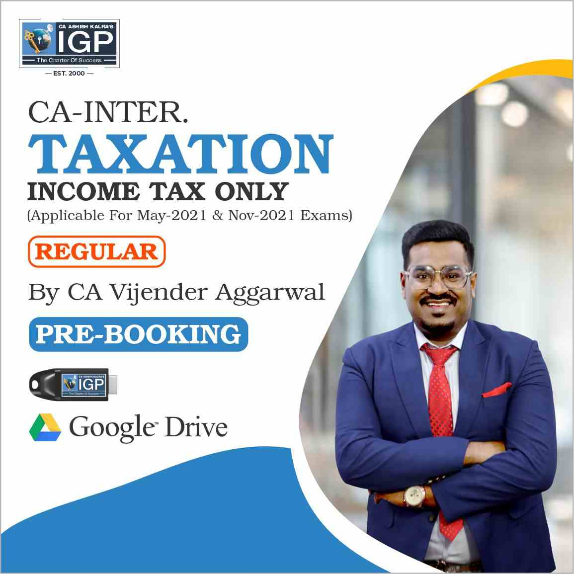 CA-Taxation (Income Tax )-CA Vijender Aggarwal