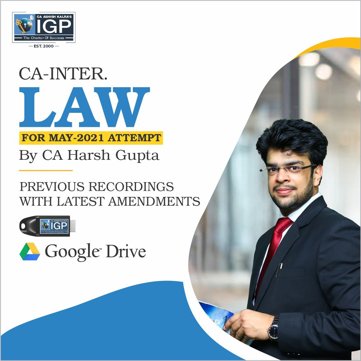 CA Inter, New Course Law-CA-INTER-Corporate Laws and Other Laws- CA Harsh Gupta