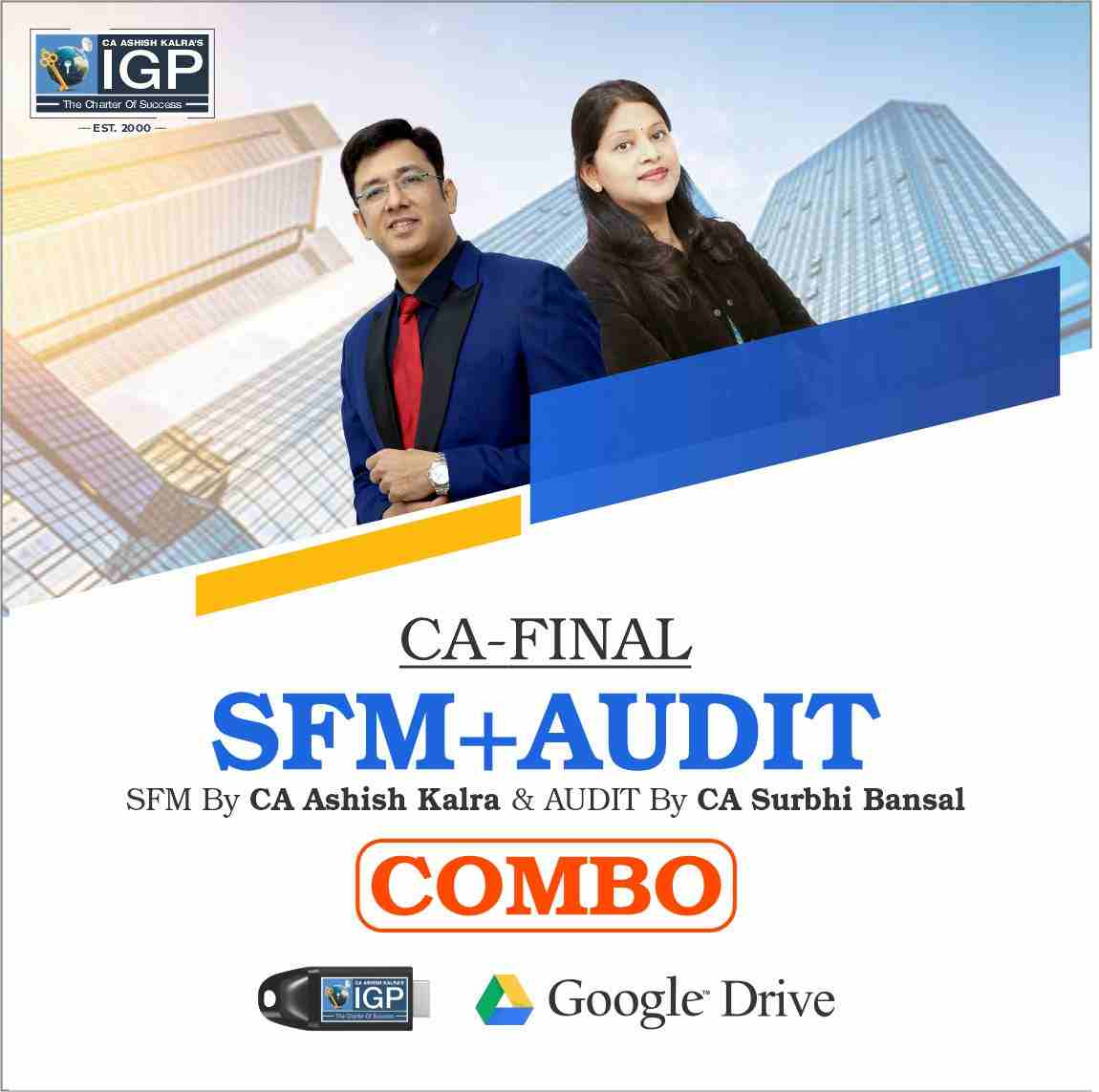 CA FInal - SFM & Audit Combo