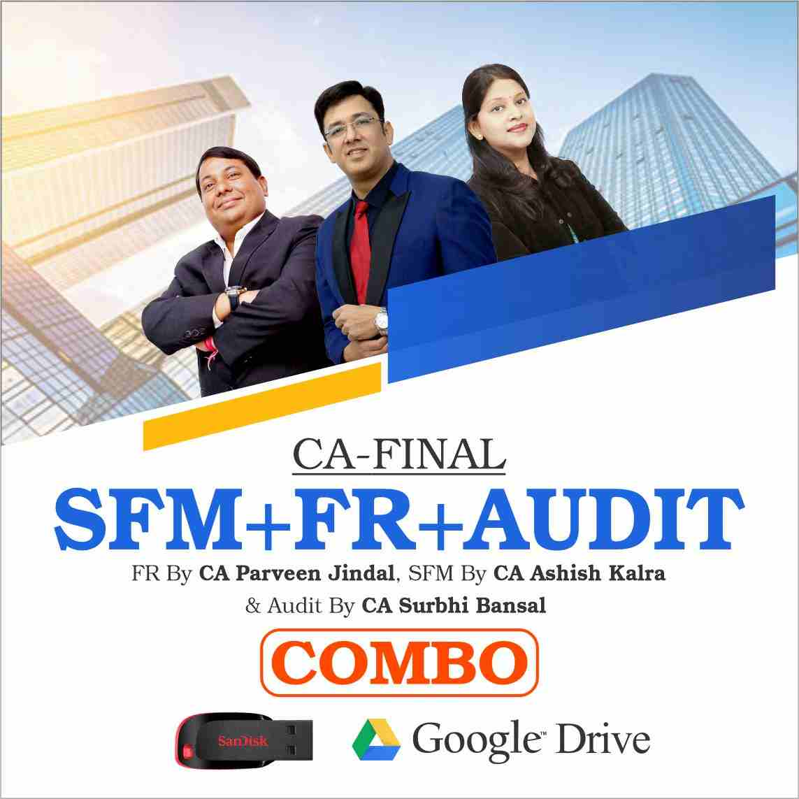 CA FINAL SFM & FR & AUDIT Combo