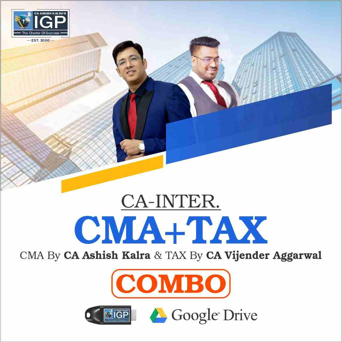 CA Inter - CMA & IT + GST Combo