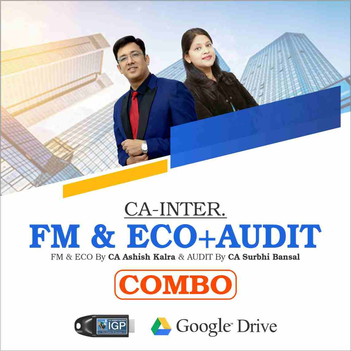 CA Inter - FM Eco & Audit Combo