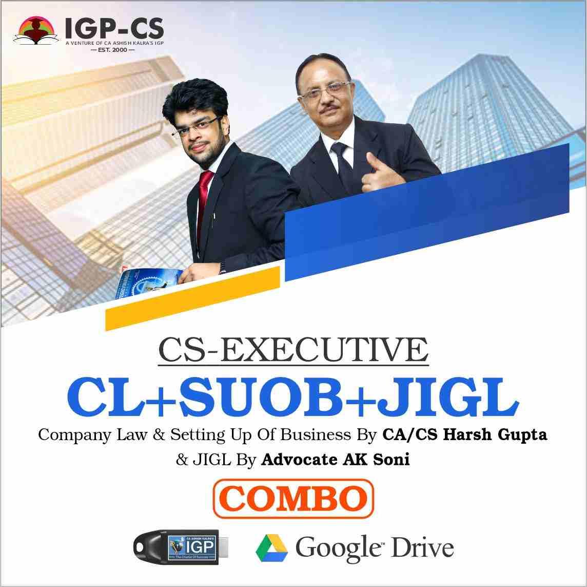 -CS-Executive-Company Law- CA Harsh Gupta