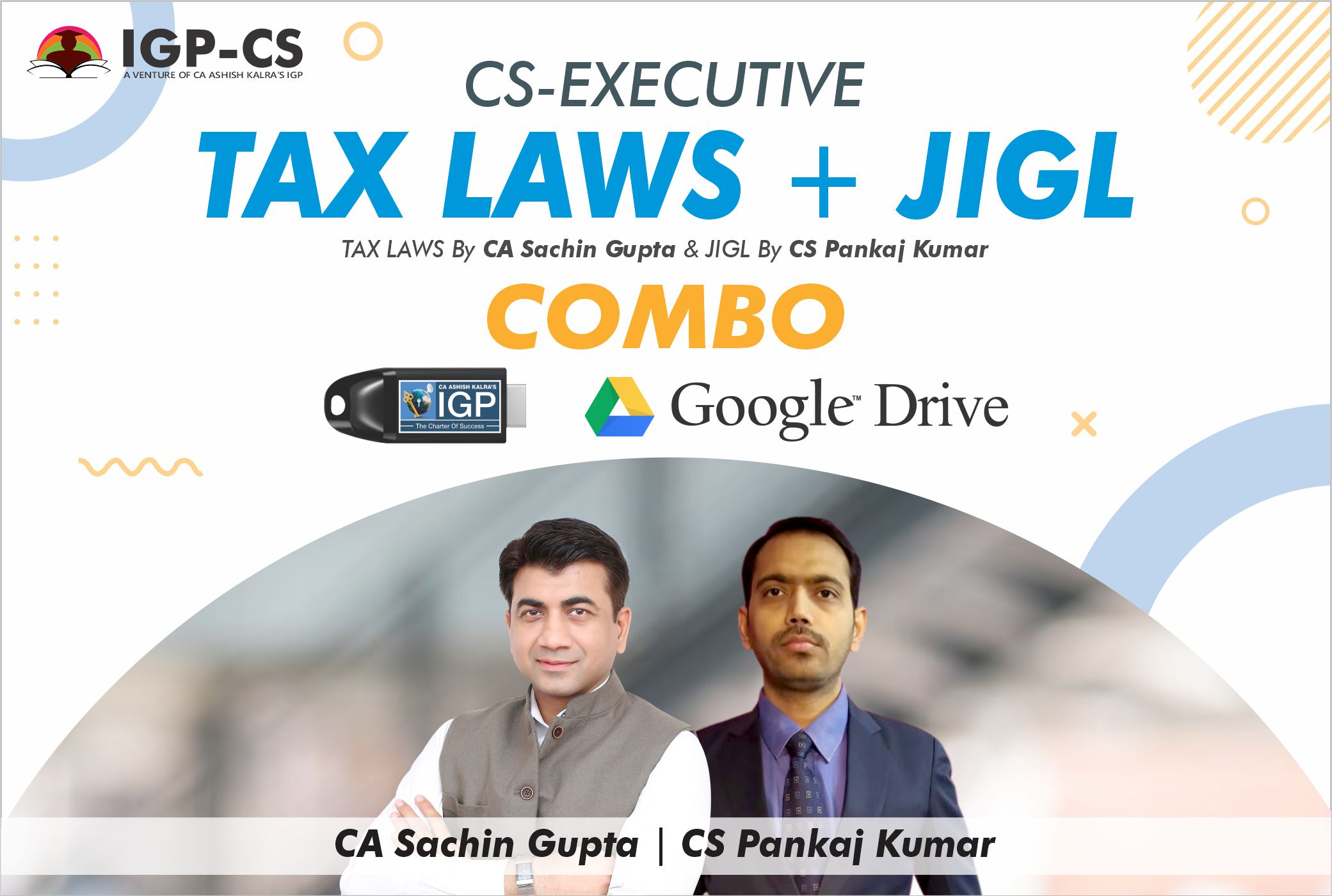 CS Executive - JIGL & Tax Law Combo