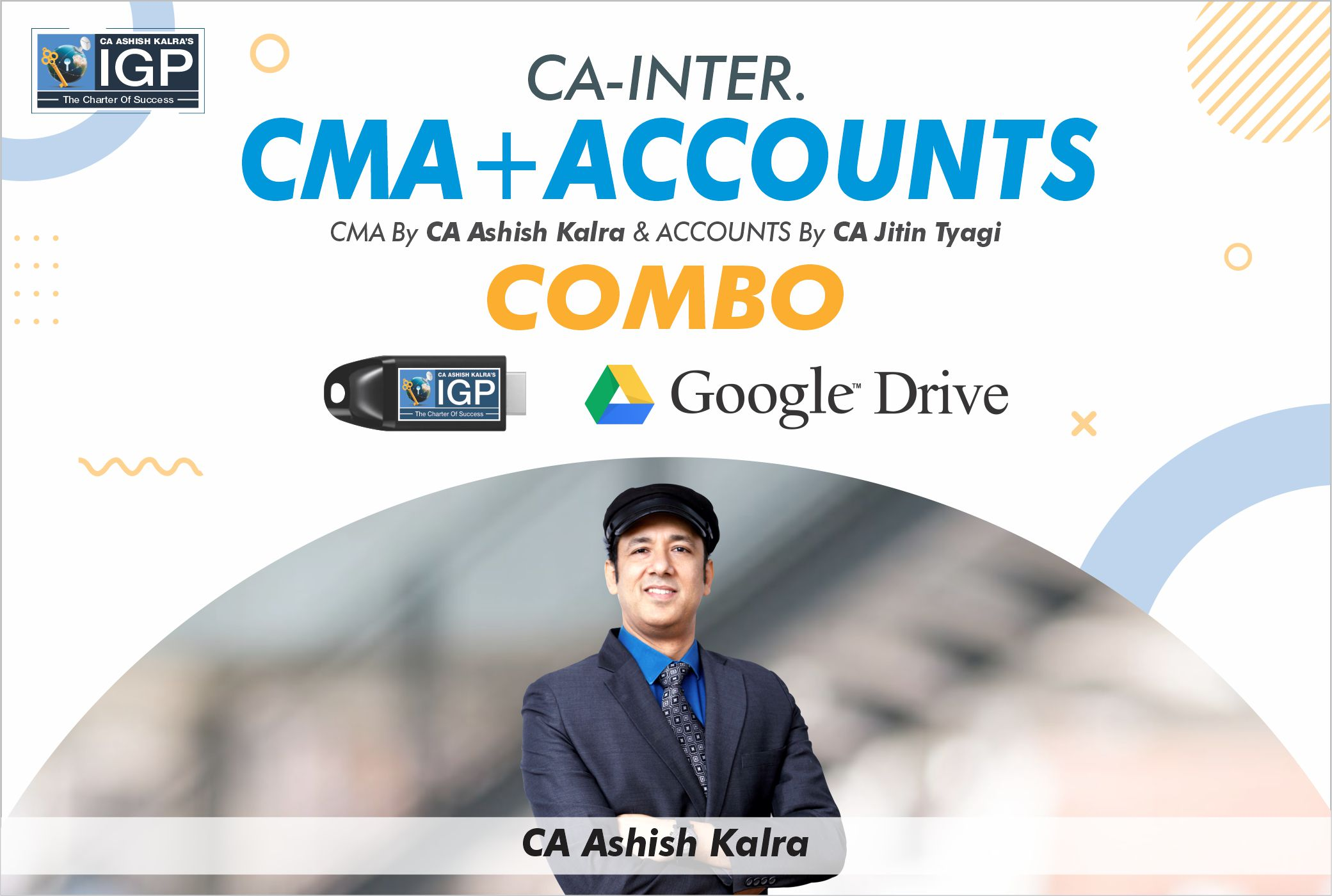 CA Inter - CMA & Accounts Combo