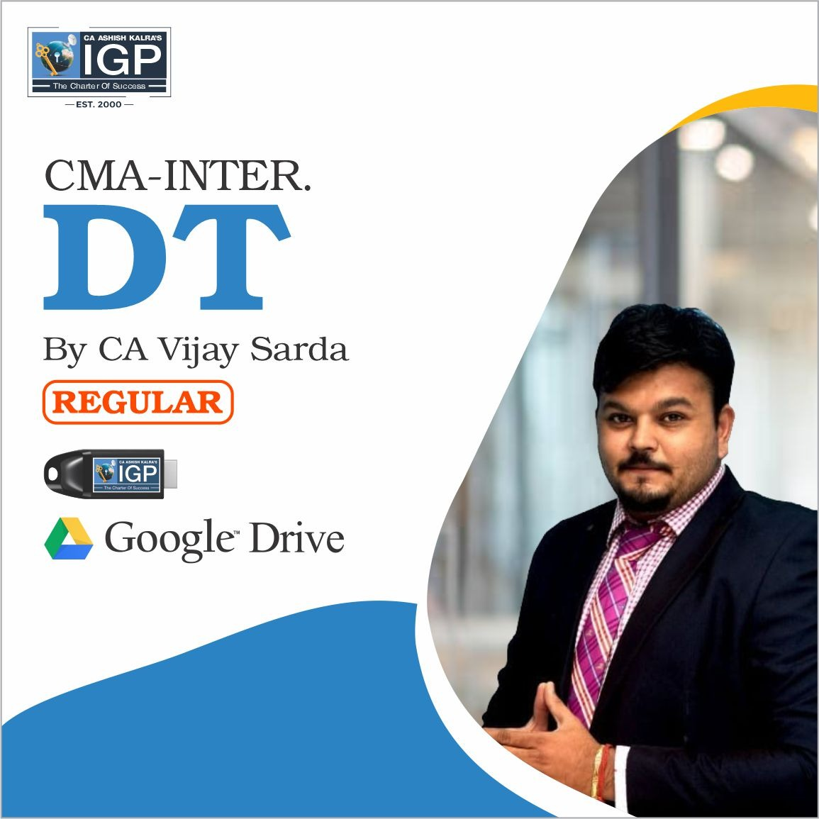 CMA Inter, New Course DT-CMA-Inter-Direct Taxation- CA Vijay Sarda