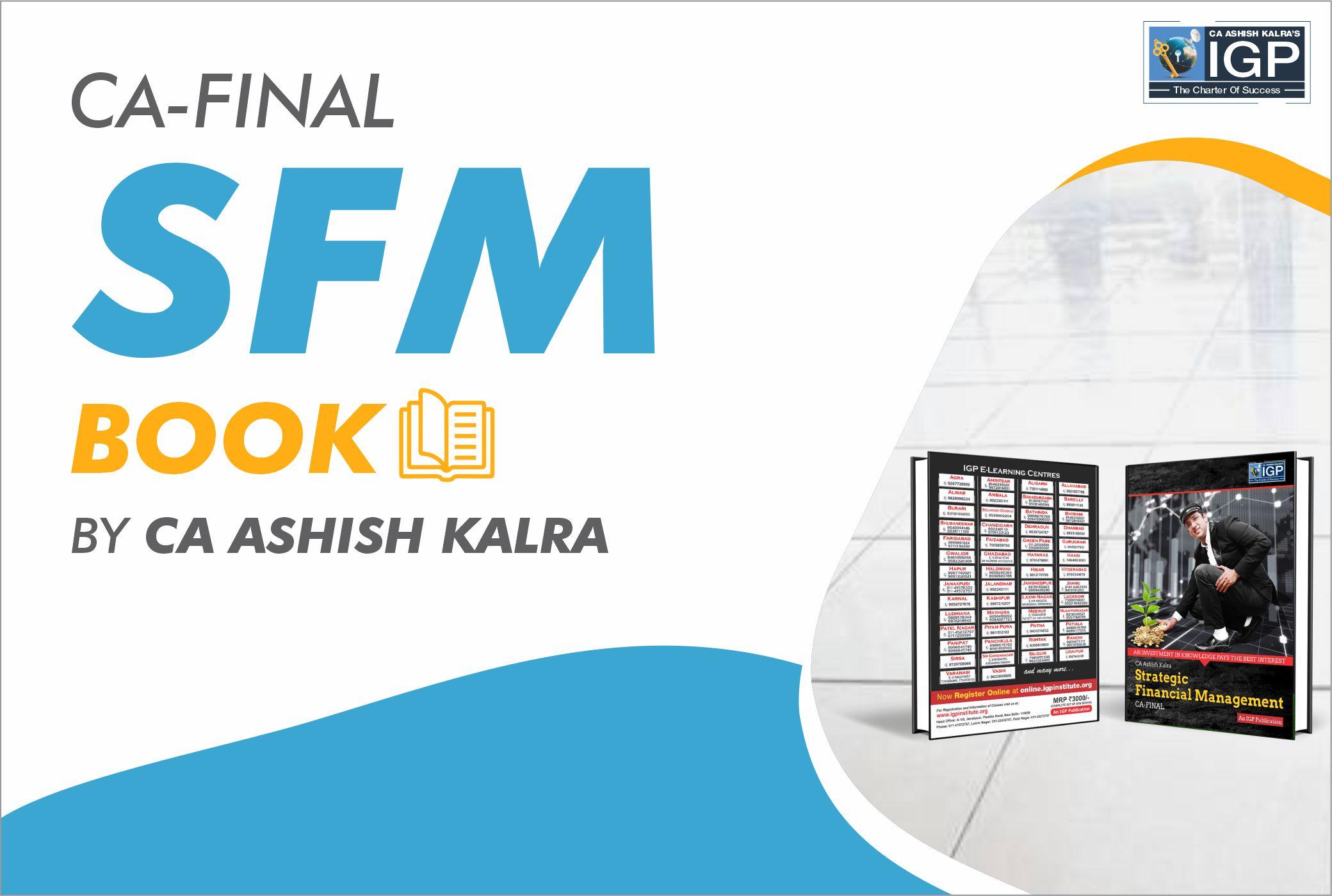 CA Final – SFM