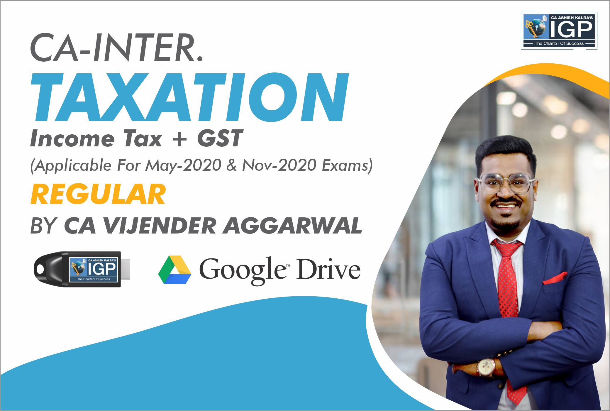 CA -INTER- Taxation (Income Tax + GST)