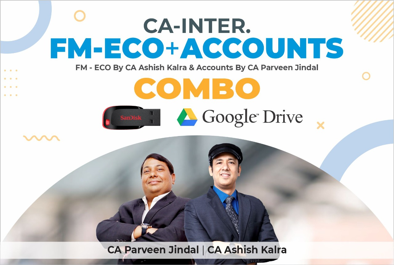 CA Inter FM & ECO & ACCOUNT