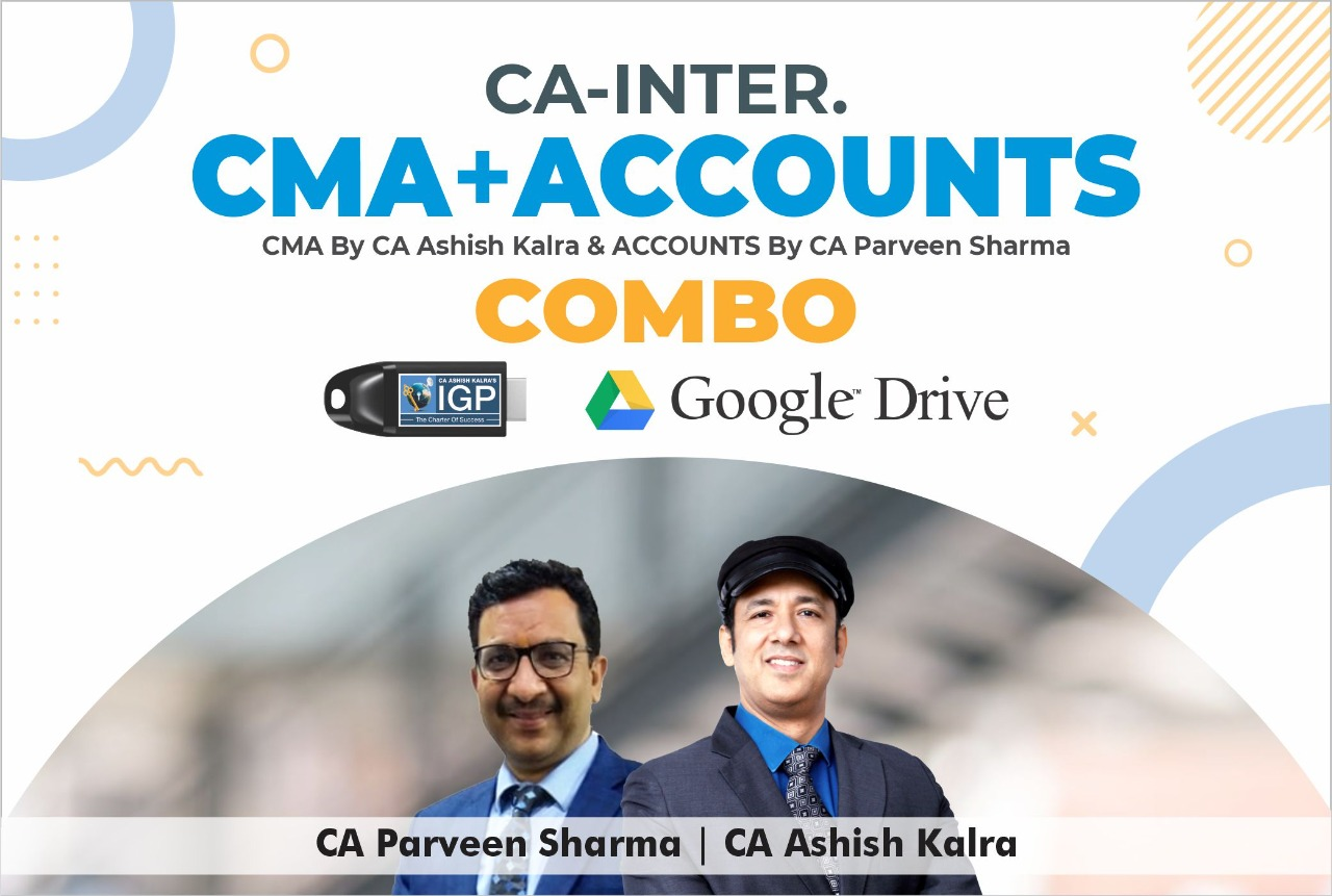 CA inter CMA & Accounts Combo