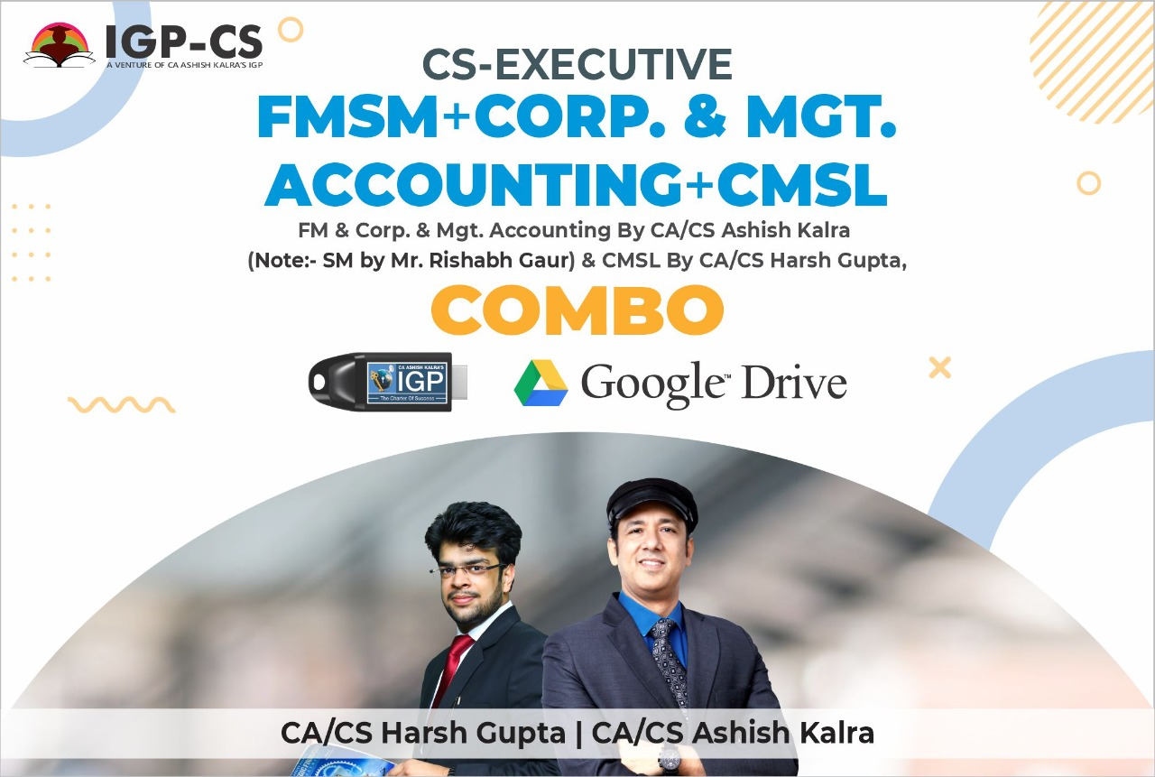 CS EXE MA&CA ,FM&SM and CMSL Combo