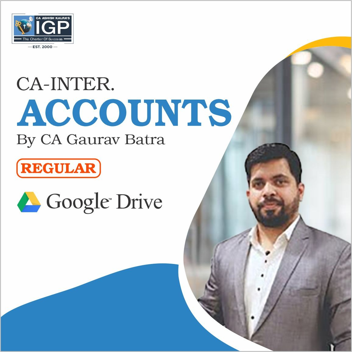 CA Inter, New Course Account-CA-INTER-Account- CA Gaurav Batra