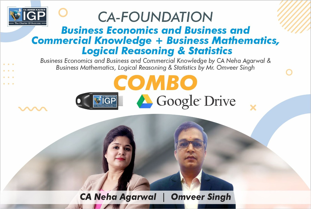 CA Foundation - Economics & Maths Combo