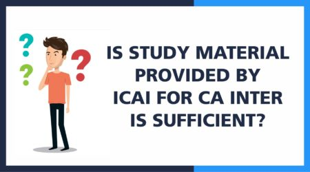 Study Material provided by ICAI