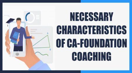 CA Foundation Coaching